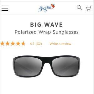 03248994c4 Maui Jim Accessories - Big Wave polarized wrapped sunglasses